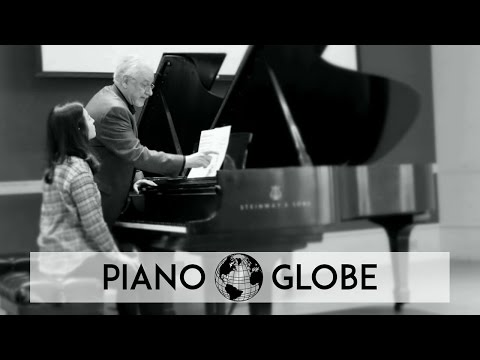 Masterclass-clip with Piano Professor James Tocco, Cincinnati University USA