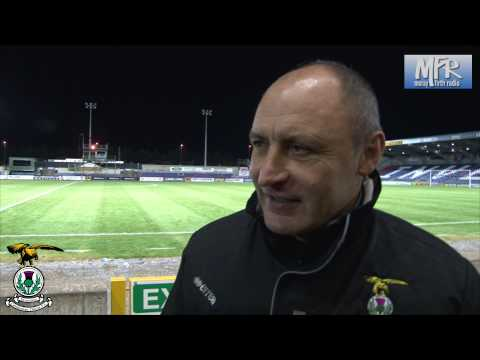 Maurice Malpas, post match interview,League Cup v Dundee United