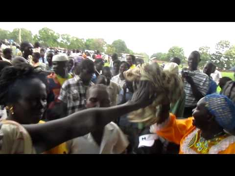The First South Sudanese Independent celebration day in Mundri West County.