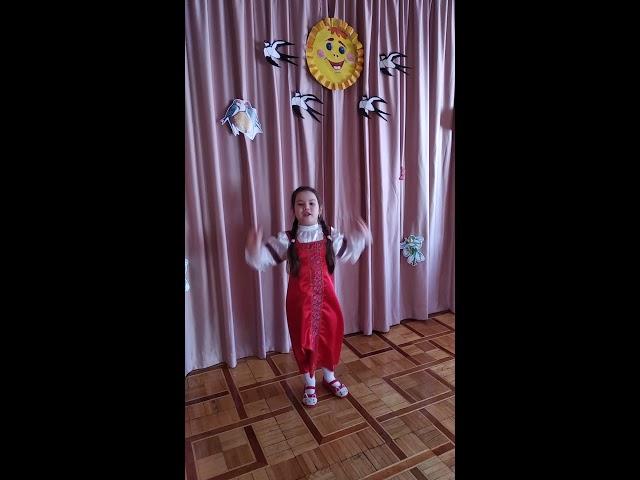 Изображение предпросмотра прочтения – АлисаИонова читает произведение «Весна (Зима не даром злится…)» Ф.И.Тютчева