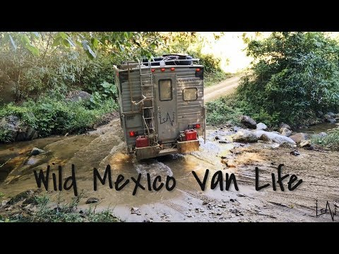 Wild Mexico Van Life - Off Road From Miahuatlán To Puerto Escondido Oaxaca