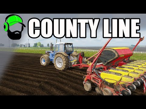 Farming Simulator 17 - County Line  - Planting corn and a new trailer #FS17