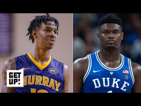 Ja Morant's game could translate to the NBA better than Zion Williamson's - Jay Williams | Get Up! thumbnail