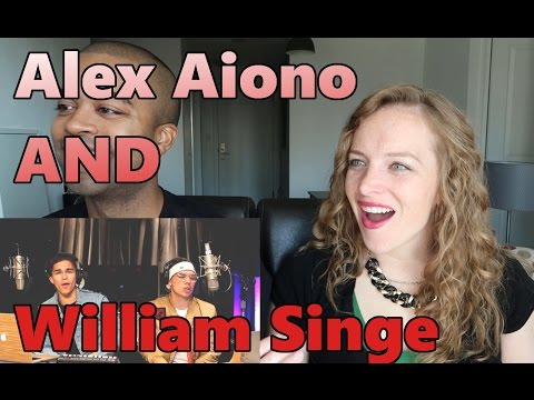 Black Beatles, Confessions, & No Problem | Alex Aiono AND William Singe Mashup (REACTION 🔥)