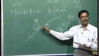 Mod-03 Lec-14 Vector Calculus in Geometry