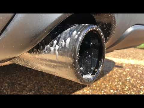 How to Clean Exhaust tip Soot - easy!