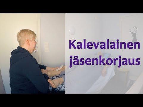 Kalevalainen jäsenkorjaus Niina Kivimäki
