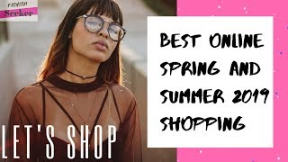 Best Online Spring & Summer 2019 Shopping Finds