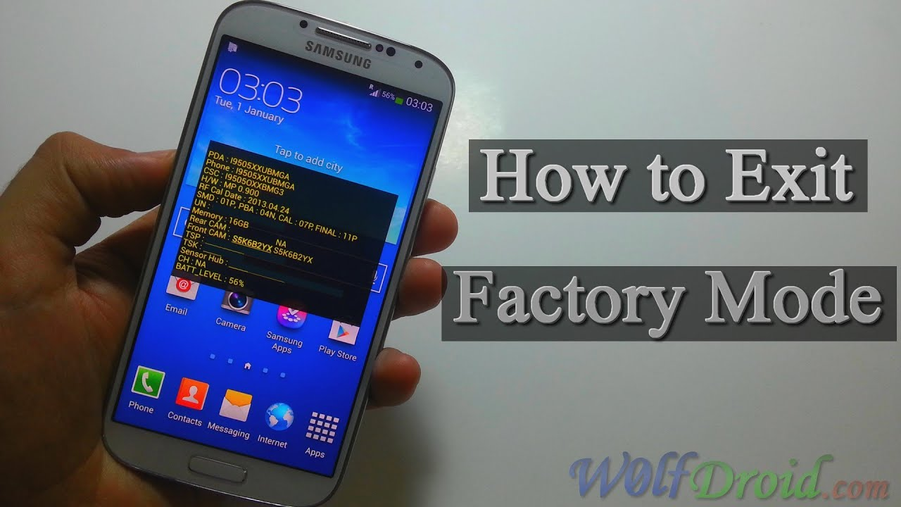 How to Exit Factory Mode for Samsung Galaxy Devices - W0lfDroid