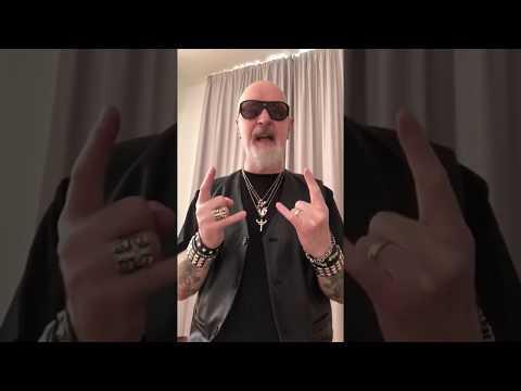 Rob Halford de Judas Priest nos envía un saludo!!