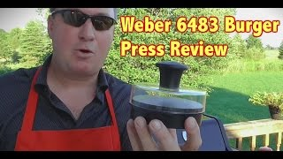 Weber 6483 Original Burger Press Review