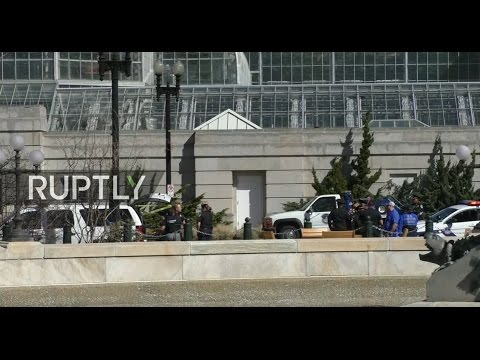 LIVE from DC after police apprehend suspect near Capitol Building