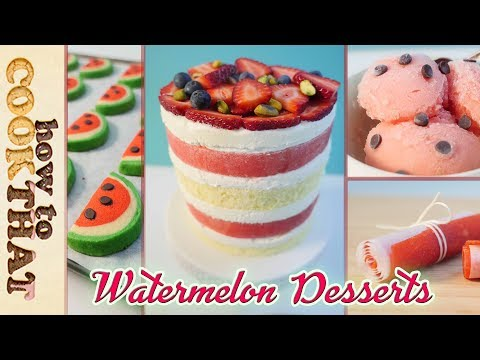 Thumbnail: 10 Best WATERMELON Recipes in 10 minutes: How To Cook That Ann Reardon