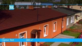 Icopal Rolled Tiles 3d® Roofer - Residential Building