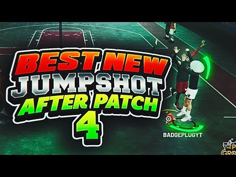 NEW BEST JUMPSHOT IN NBA 2K19 AFTER PATCH 4!