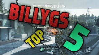 saw billygs top 5 clips of the week 2 bo2 mw2 trickshot montage