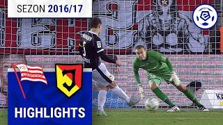 Cracovia - Jagiellonia Białystok 1:3 [skrót] sezon 2016/17 kolejka 14