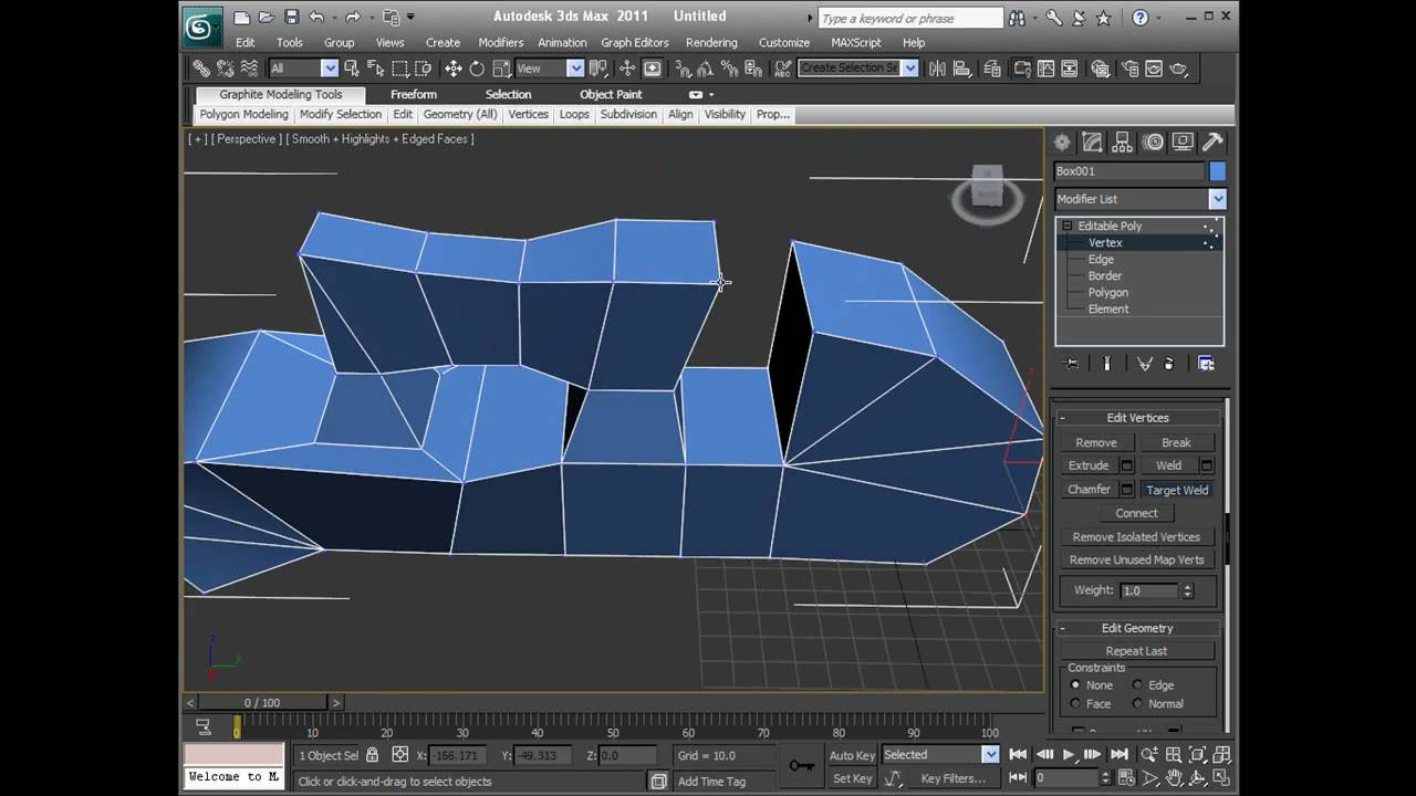 3ds Max 2011 - Vertices  U0026 Polygons