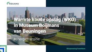 Warmte koude opslag (WKO) in Museum Boijmans van Beuningen | ENGIE Services