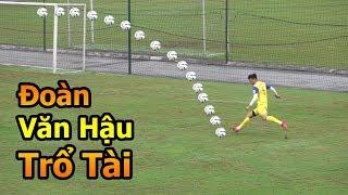 Thử Thách Bóng Đá đi xem Đoàn Văn Hậu , Quang Hải , Bùi Tiến Dũng  U23 Việt Nam tập đấu U23 Brunei