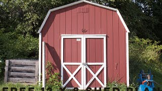 Woodworking Projects Free 12 X 8 Shed Plan