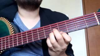 Huapango Los Viejitos (Legitimo) - Bajo Sexto - Instruccional