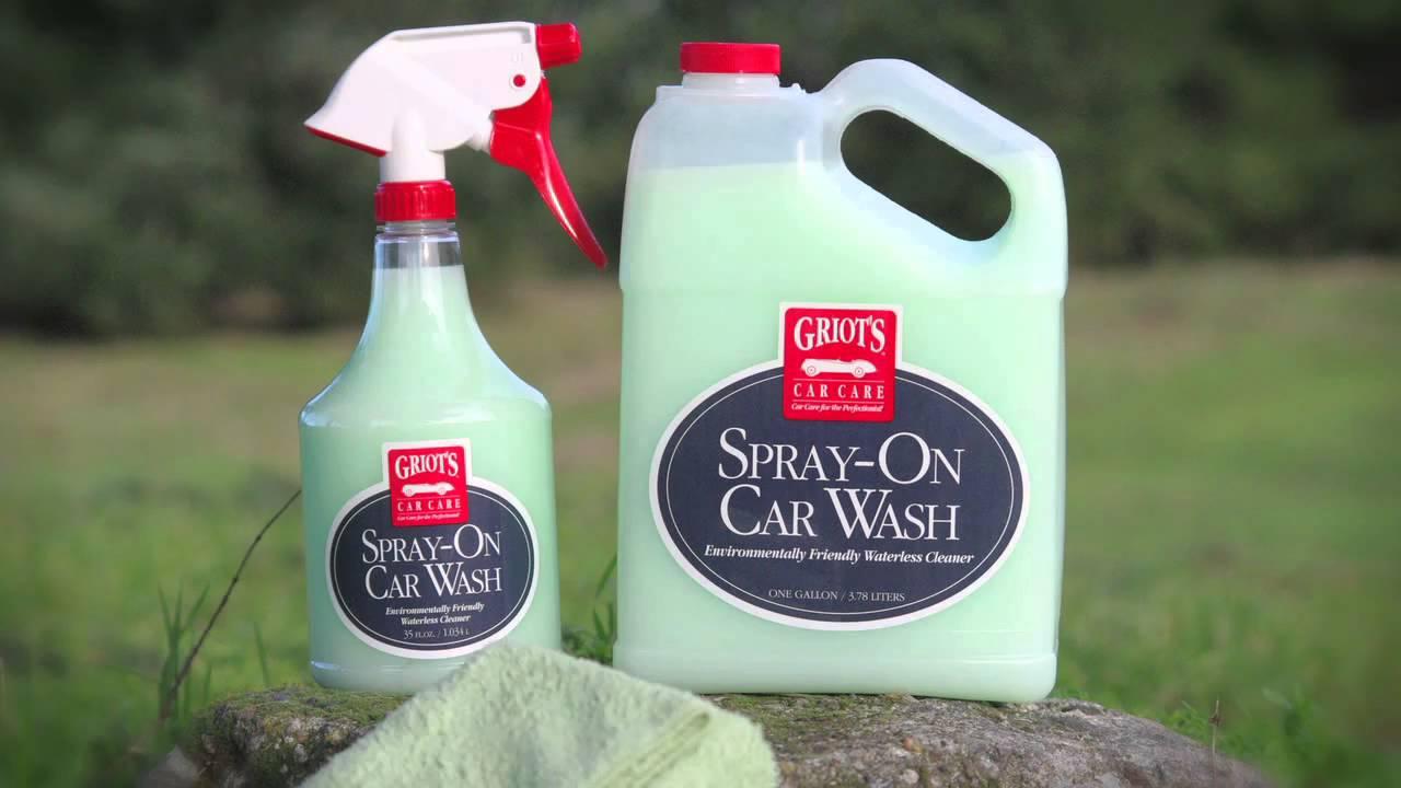 Spray Car Wash >> Griot S Garage Spray On Car Wash