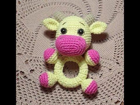 Погремушка- коровка