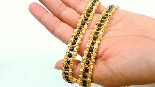 Jewelry Making - How to make Anklets at Home !!