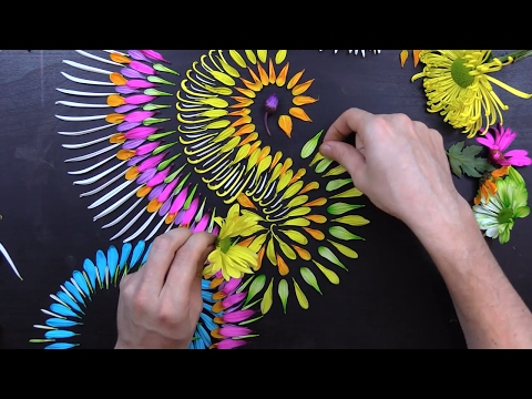 🌸🌼🌻 Flower Petal Mandala 🌻🌼🌸