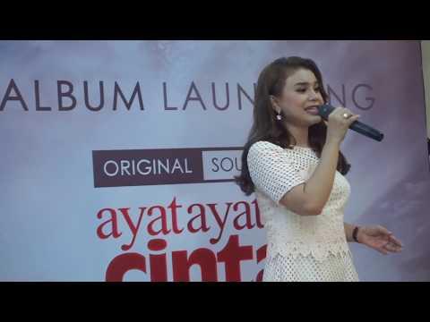 Launching OST Ayat Ayat Cinta 2 | Rossa - Bulan Dikekang Malam
