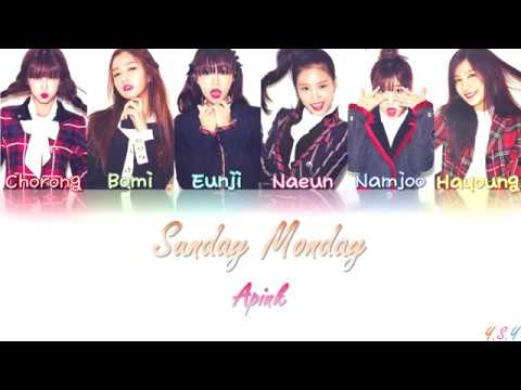 Apink (에이핑크) - Sunday Monday [Han/Rom/Eng Lyrics]