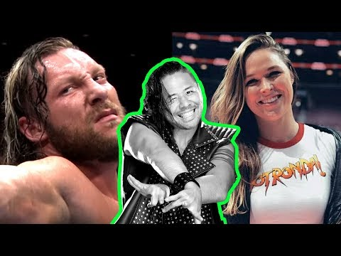 Kenny Omega SLAMS WWE? Ronda Rousey Backlash! Going in Raw P