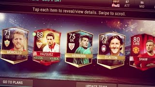 FIFA Mobile NEW LEAGUE MASTER PACKS!!! 6 ELITES!! 88 Rated Pull! | FIFA Mobile 17 Pack Opening