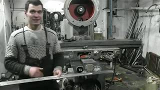 Текущий ремонт вертикально-фрезерного станка ВМ127