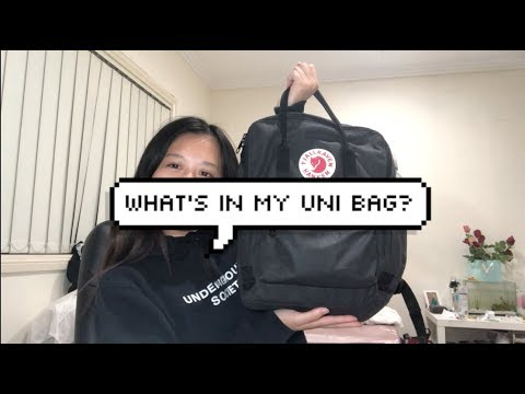 What's In My Uni Bag? Australian Student ✨ | Jeanie Luc ♡