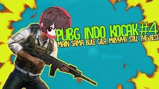 MAIN SAMA BULE GILA DI PUBG INDONESIA| PLAYER PUBG INDO KOCAK#3 FT MILYHYA