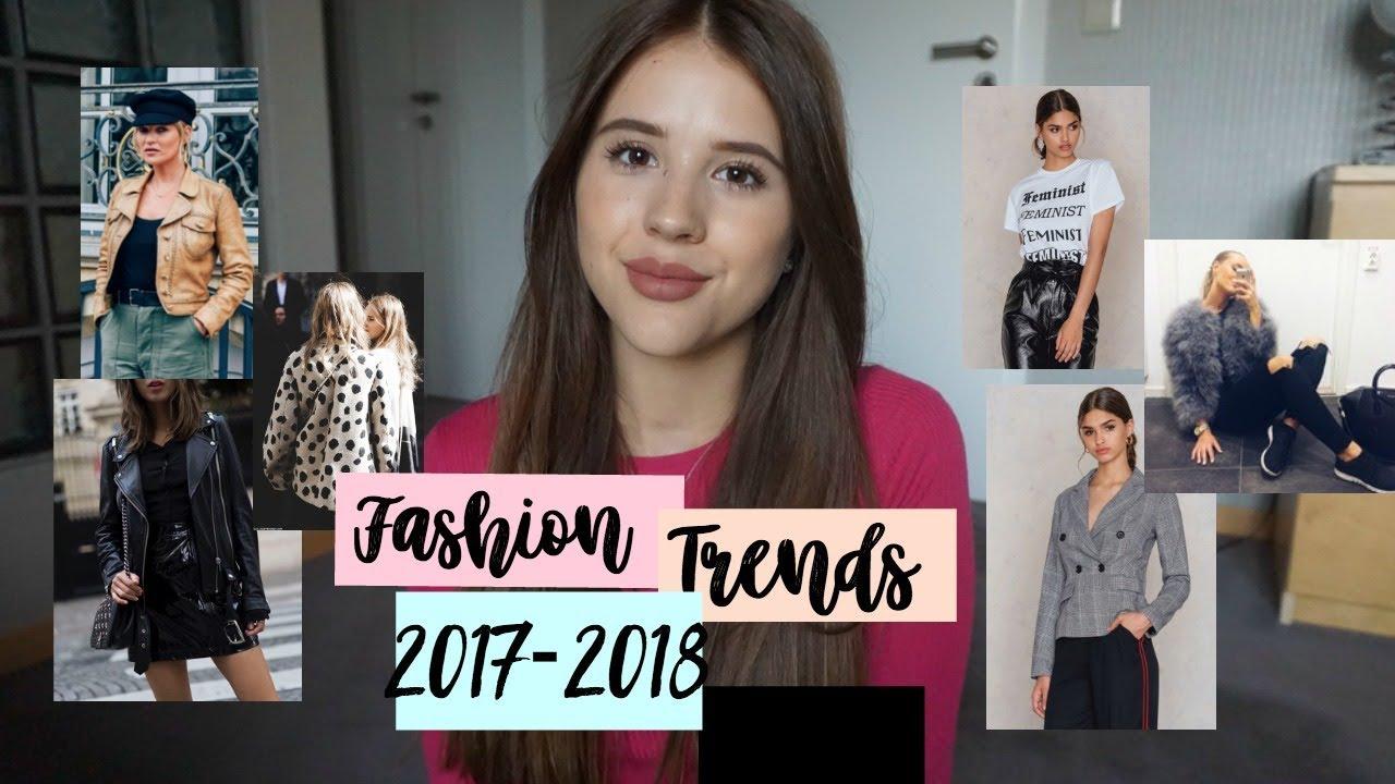 Fashion Trends Für Herbstwinter 2017 2018 Niiawrg Youtube