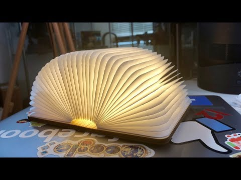 Gadget Review: Wooden LED Luminous