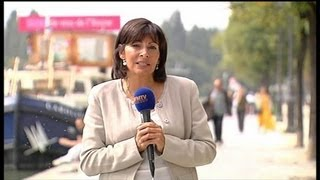 Anne Hidalgo Veut Devenir La Première Femme Maire De Paris
