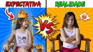 EXPECTATIVA VS REALIDADE VIDA DE YOUTUBER KIDS - SARAH DE ARAÚJO