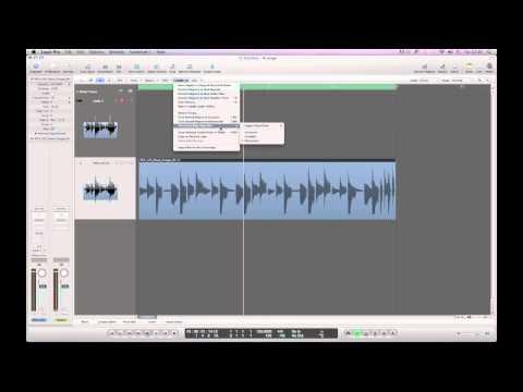 Как в программе Logic Pro превратить аудио файл в миди
