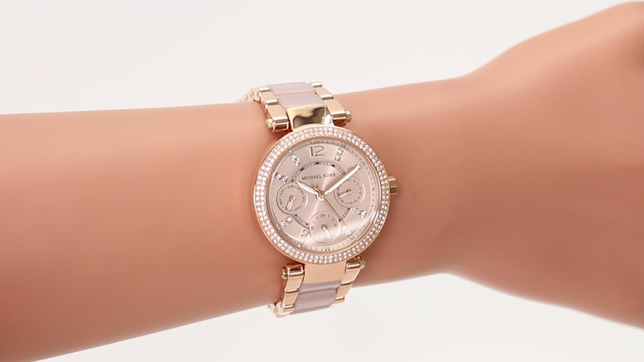 47d5a6154f48 Hands on with the Michael Kors MK6110 - YouTube
