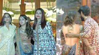 aishwarya rai and all celebrity attend   saudamini mattu wedding reception