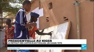 Au Niger, le retrait des cartes électorales est un casse-tête