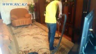 видео Химчистка ковров Алматы