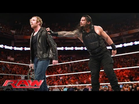 Roman Reigns vs. Seth Rollins: Raw, June...
