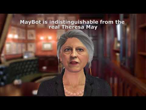 MayBot - an AI Theresa May indistinguishable from the real British PM