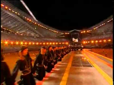 PYRRHIC DANCE (ΠΥΡΡΙΧΙΟΣ ΧΟΡΟΣ),  Olympic Games - Athens, 2004