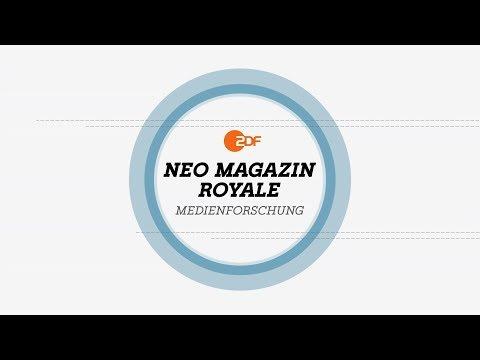 NMR Medienforschung: Was darf Satire? - Musik und Humor   NEO MAGAZIN ROYALE mit Jan Böhmermann